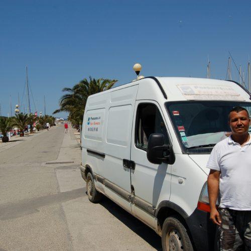 Fret express transport de marchandises île de Porquerolles Parc national