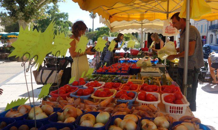 Le marché paysan – avenue gambetta Hyeres