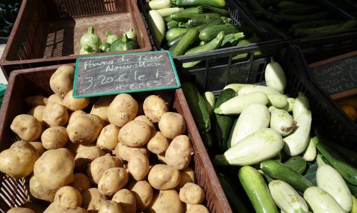 Le marché paysan hyères centre ville