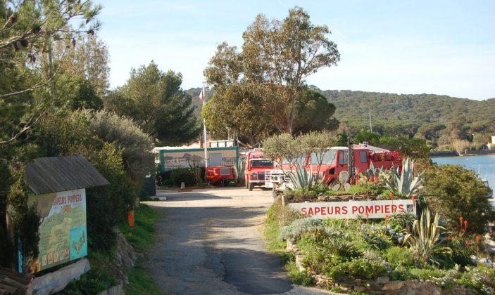 Pompiers Plan Alarm Secours Incendie Urgences Accidents Ile de Porquerolles Parc National