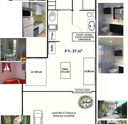 Appartement T1 – M BLANQUI