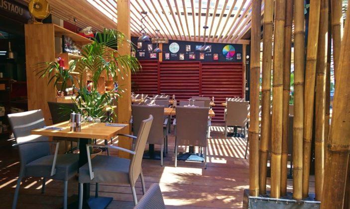L'Oustaou restaurant île Porquerolles village Parc National