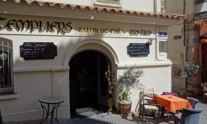 Restaurant les templiers – rue du temple – hyeres