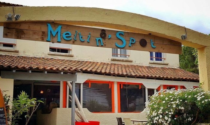 O meltin spot restaurant la badine Hyères