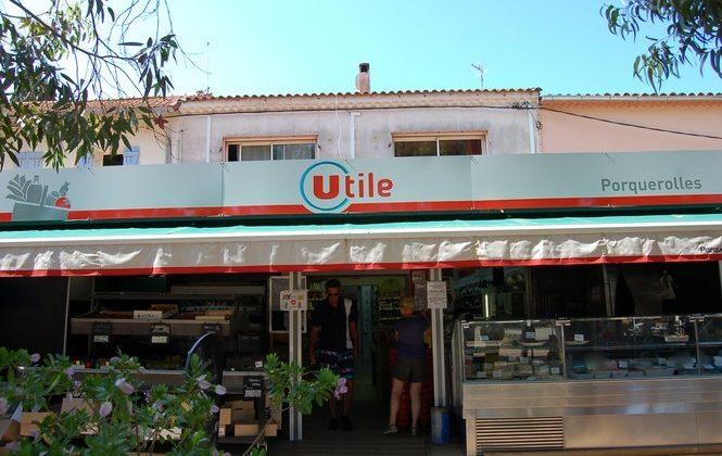 Libre service Supérette île Porquerolles village