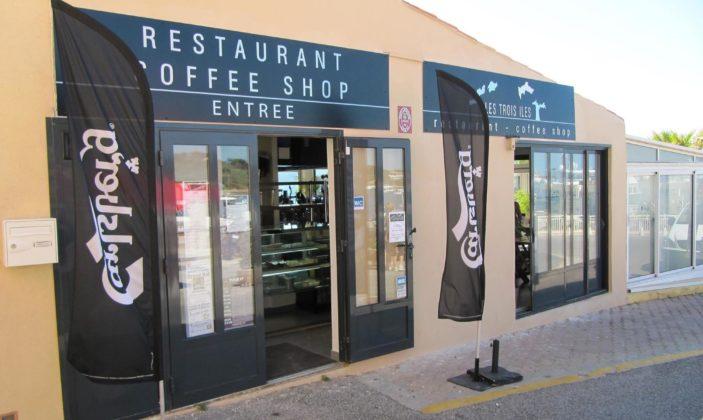 Bar restaurant coffee shop les trois iles la tour fondue hyeres giens
