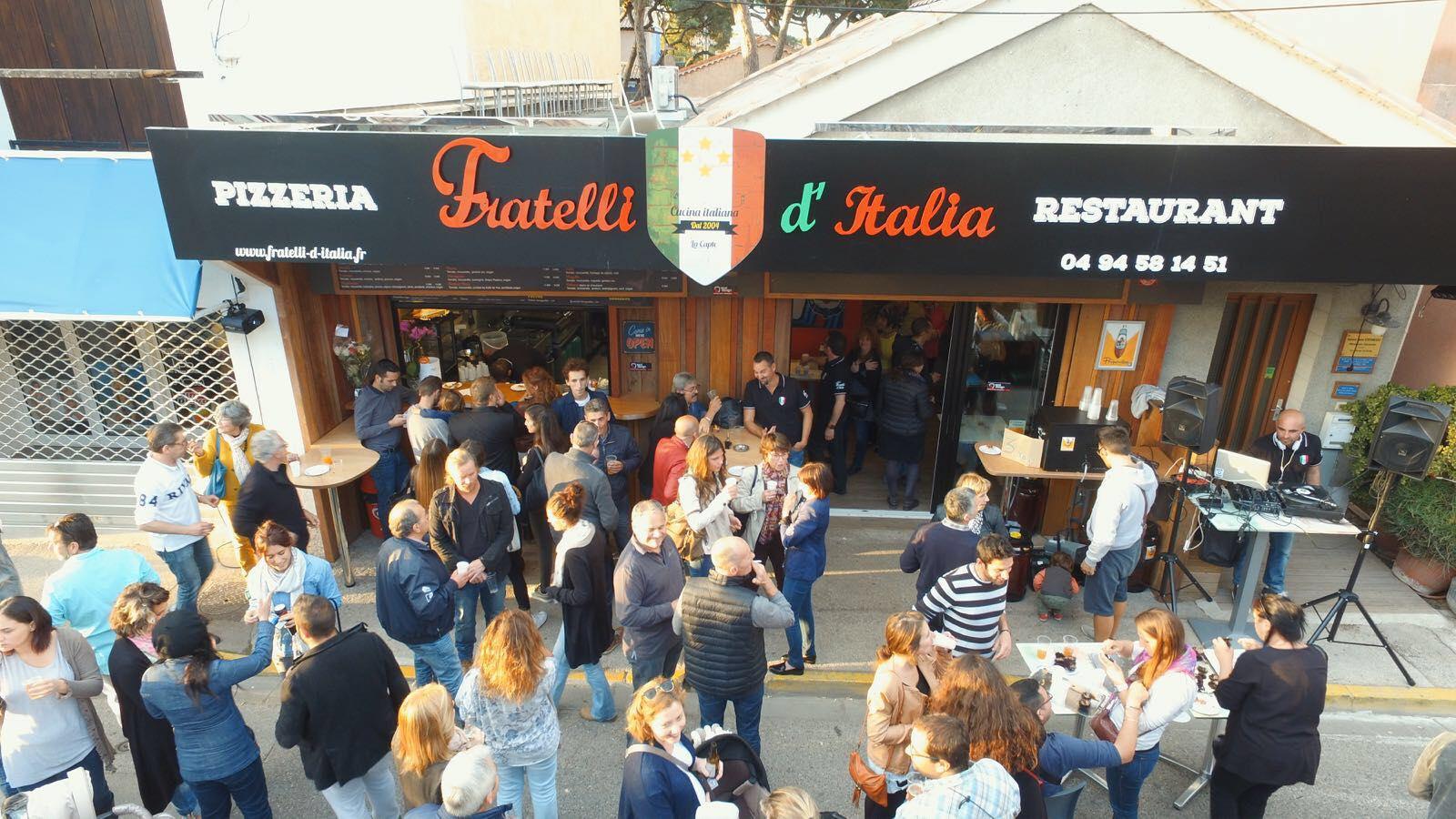 pizzeria Fratelli d'Italia La Capte Hyères