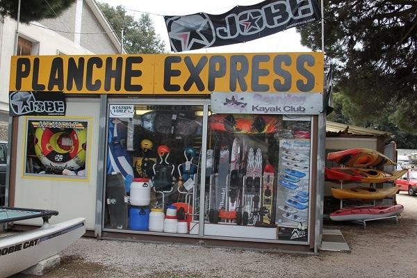 Planche Express Hyères le port