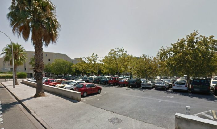 parking place Versin Hyères centre