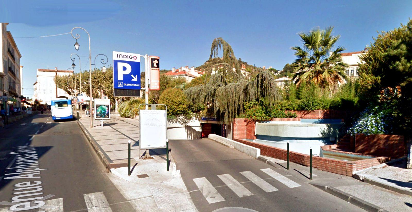 parking indigo clemenceau