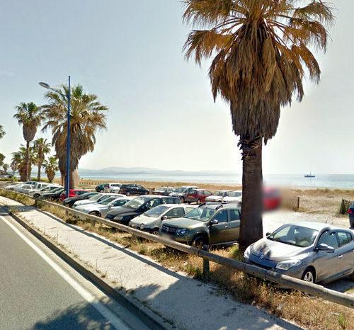 parking du front de mer