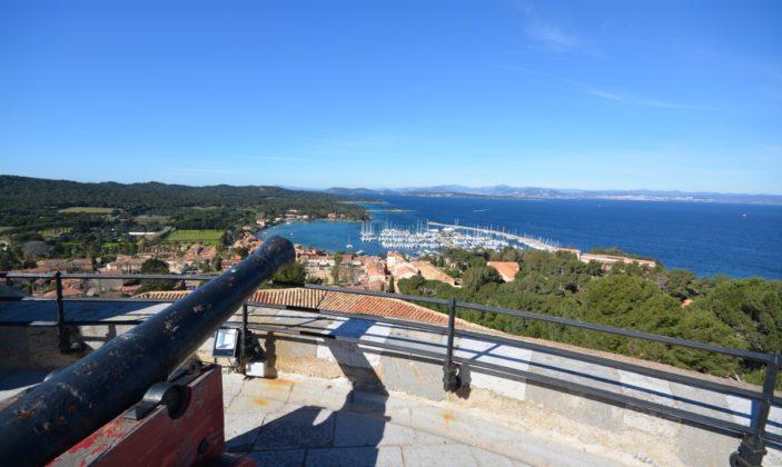 La vue depuis le fort sainte agathe
