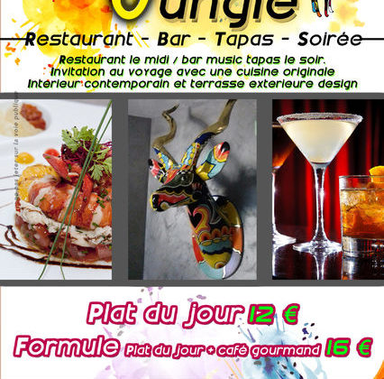 Bar restaurant Le Jungle centre ville Hyères