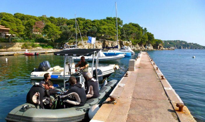 Club La Fée Plongée Hyères port du Niel
