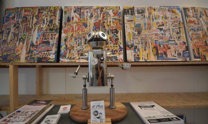 Kplan plasticien parcours des arts Hyères centre ville