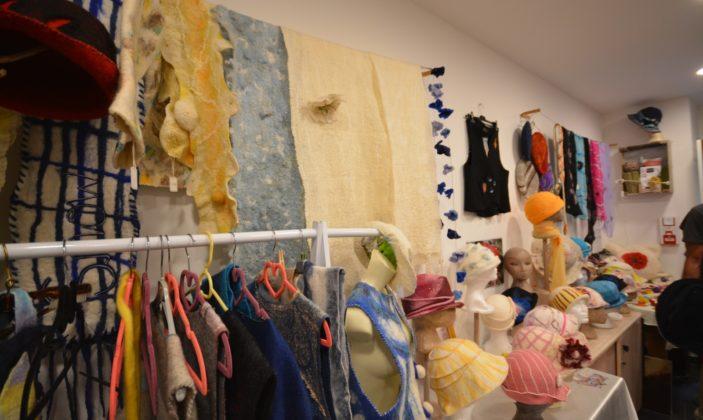 Tina B creation feutrière parcours des arts Hyères centre ville
