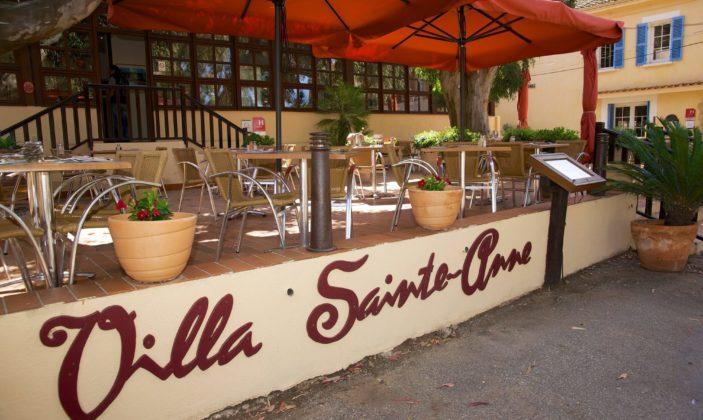 Restaurant, Villa Sainte Anne, Label Maître restaurateur, Ile de Porquerolles