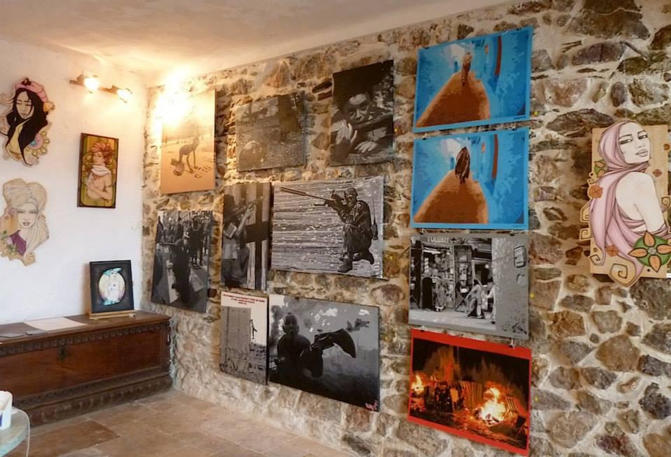 Galerie Republiq'art Hyères centre-ville