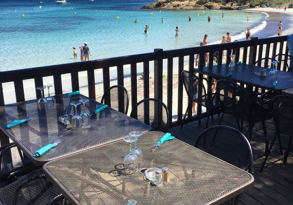 restaurant Porquerolles Plage d'Argent