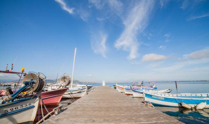 Ponton port de la Madrague Presqu'île de Giens