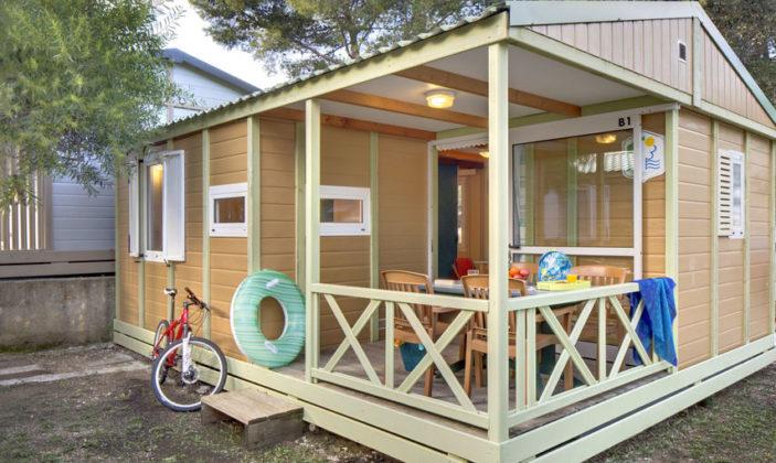 Chalet Provence Camping de la Presqu'île