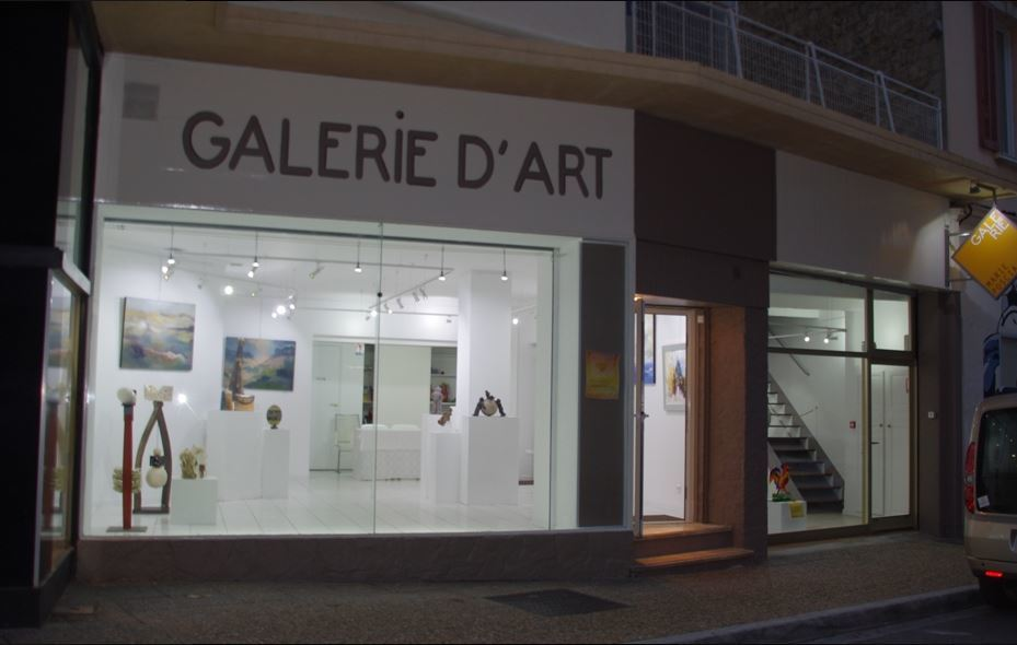 Galerie Marie Poscia Hyères centre