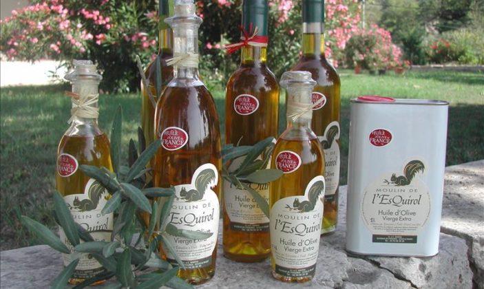 Les huiles d'olives du Moulin de l'Esquirole