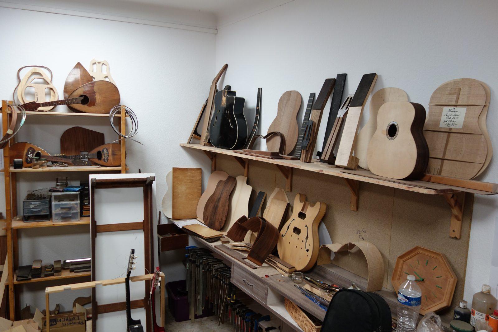 Gael Fourdrin artisan luthier a hyeres parcours des arts