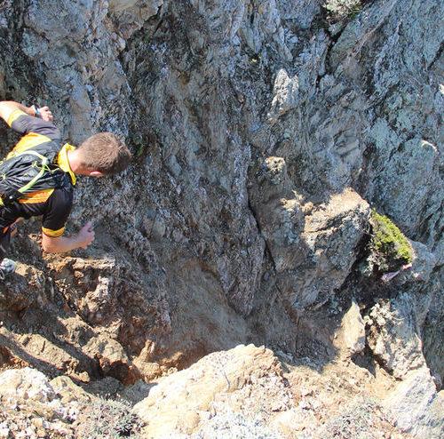 Trail compétition sportive île de Porquerolles Parc National