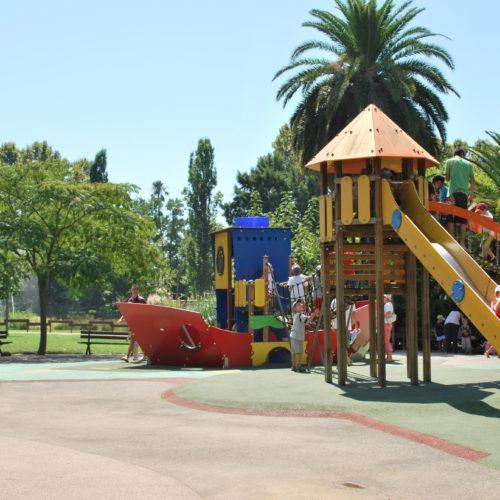 Aires de jeux Olbius Riquier Hyères centre