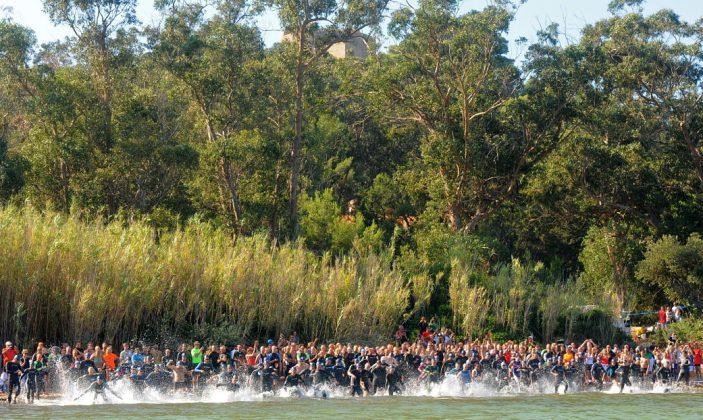 Triathlon Original de Porquerolles, Epreuve sportive, course, triathlon, île de Porquerolles, Parc National