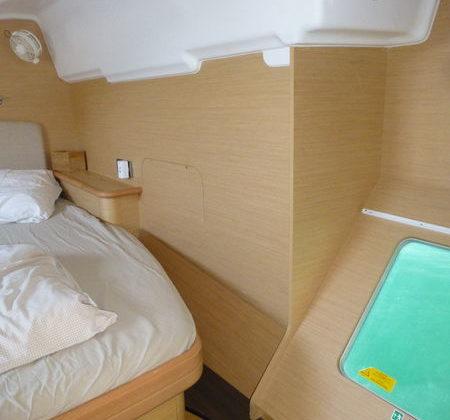 Catamaran à quai Porquerolles Ile