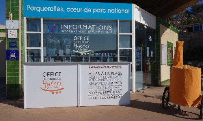 Bureau informations Porquerolles