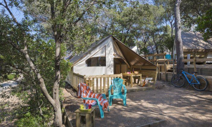 Cabane toilée Camping de la Presqu'île