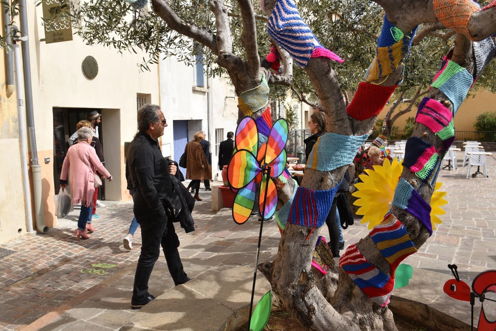 Parcours des arts en fête hyères centre