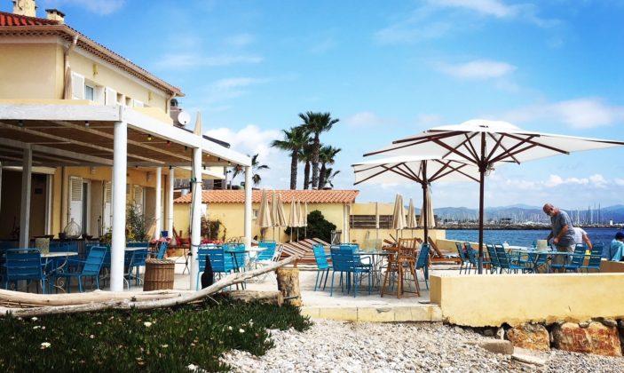 Restaurant hotel lido beach Hyères plage