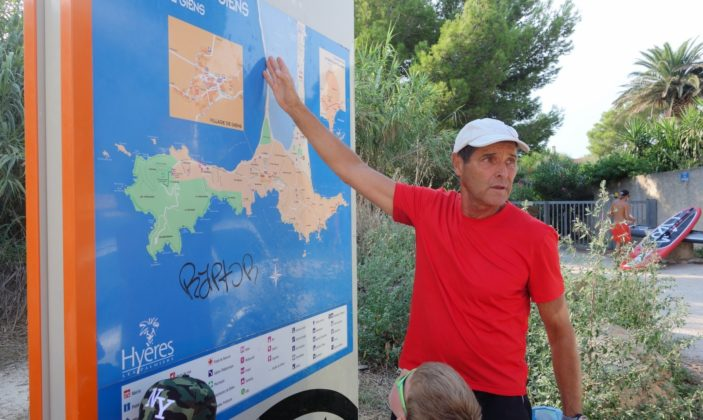Le petit parcours du littoral – Giens visite guidee enfants avec Fernando Sandoval
