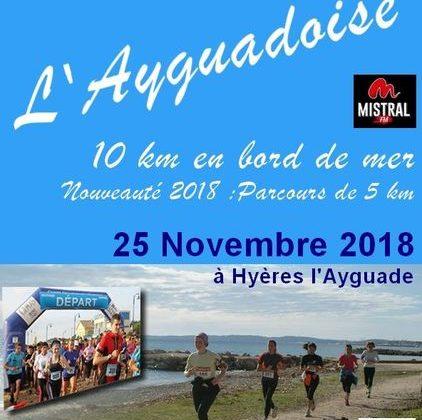 L'ayguadoise course Hyères