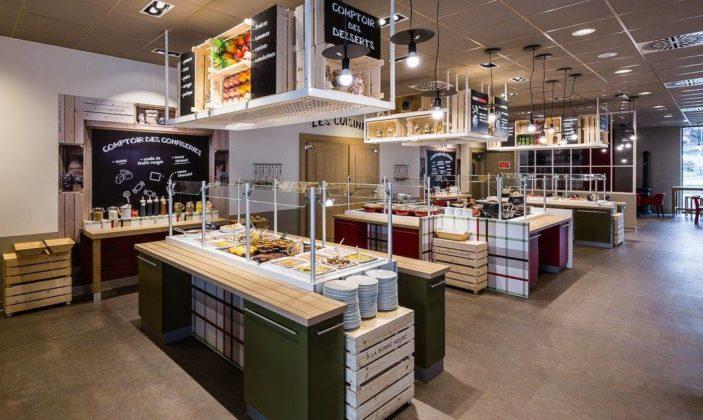 Caféteria Casino Hyères centre commercial