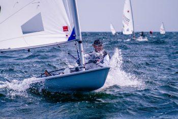 Championnat de Méditerranée des Laser n°1
