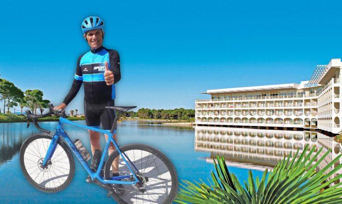 Stage vélo à l'hotel Plein Sud à Hyères