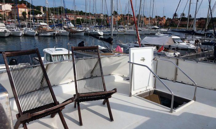 Hébergement insolite Jag Yachting Porquerolles Ile Mer