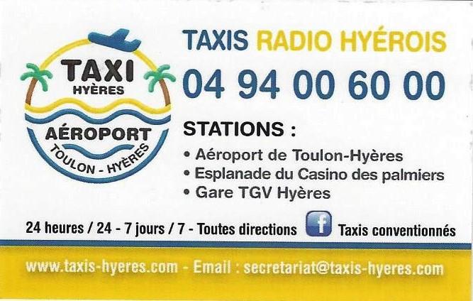Carte De Visite Les Taxis Hyerois