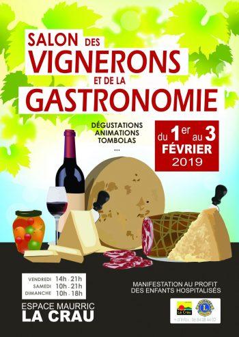 Salon des Vignerons et de la Gastronomie (9ème édition)