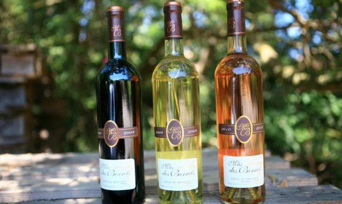 domaine mas des borrels vin