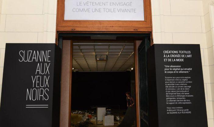 Une exposition dans l'ancienne banque de France, avant les travaux