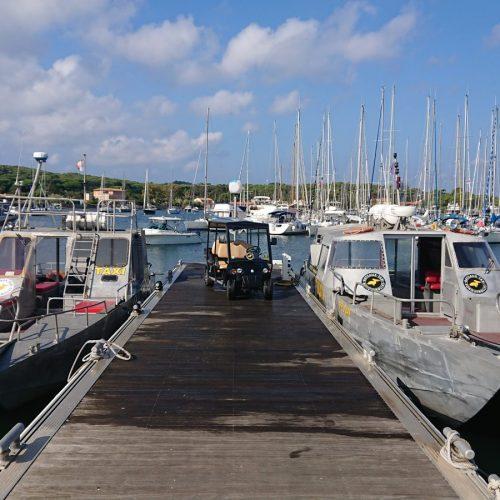 Bateaux-Taxi port de Porquerolles