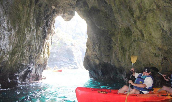 Intérieure de la grotte