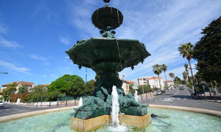 La fontaine Godillot à Hyères