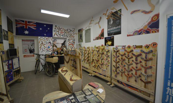 Parcours des arts Hyères Boomerang